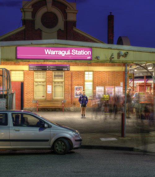 Warragul Train Station